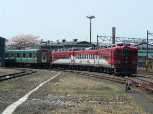 JR東日本郡山総合車両センター(2007年春撮影)