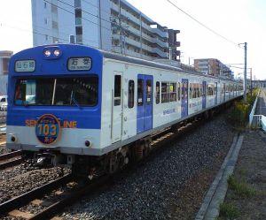 10/17 仙石線103系最終運行@小鶴新田駅