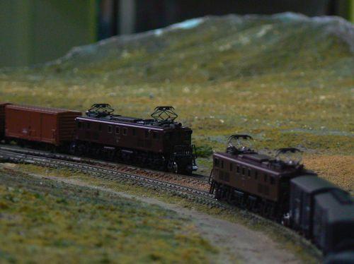 昔の貨物列車