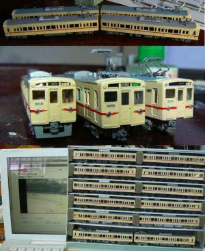 京王6000系復活塗装車を作ってみた