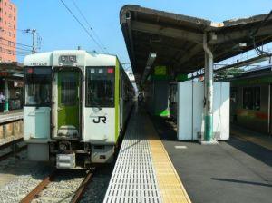 高麗川駅でディーゼルエンジンを感じる