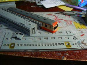 横須賀線70系電車の工作