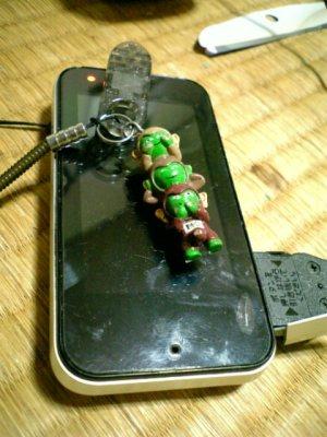 自分の携帯電話