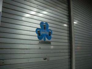 閉店した沖縄市のバー
