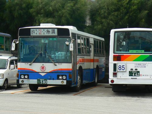 琉球バス中古車の最古参車