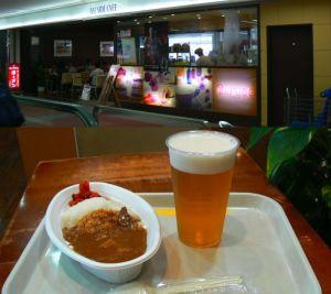 羽田空港のカレー