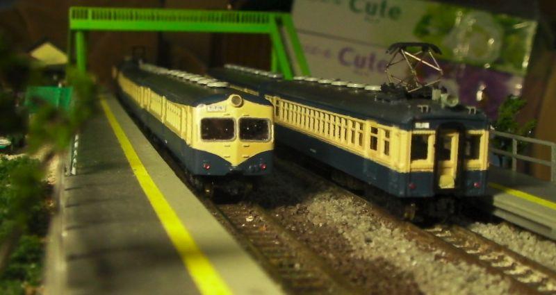 「半世紀前の横須賀線」70系・53系電車(11月4日)