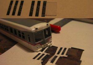 富山地鉄14760キットを組む(14:前面窓ガラス)