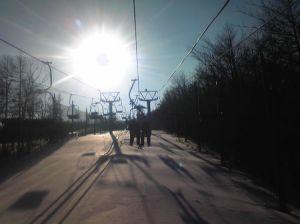 太陽のリフト。これが堪らないのです