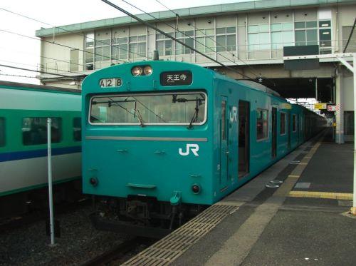 阪和線の103系体質改善車
