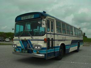 バスコレクションでも有名な、沖縄バス1064号車