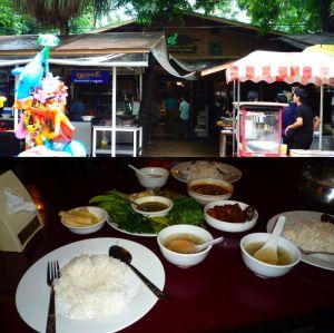 お昼やミャンマー料理