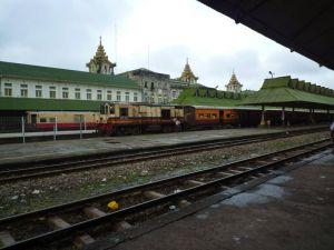 ミャンマー中央駅