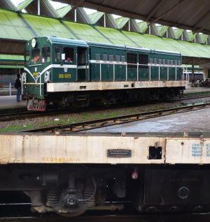 今回の旅行でお世話になったDE1125型機関車