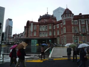東京駅・南北のドーム屋根