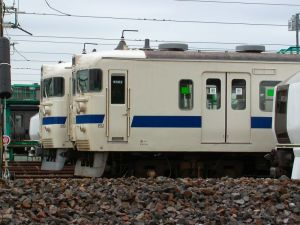 常磐線の403系電車