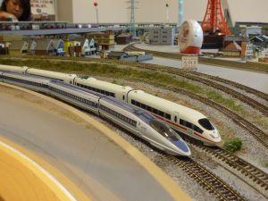 500系新幹線とICE3