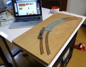今年は曲線モジュールを作ります