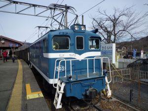 秩父の貨物列車