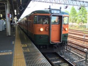 東北線に1日1往復だけ残る115系電車