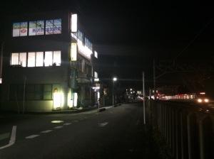 所沢市電気鉄道と航空公園駅