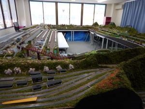 所沢市電気鉄道のレイアウト