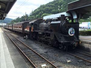 大井川の旧型客車