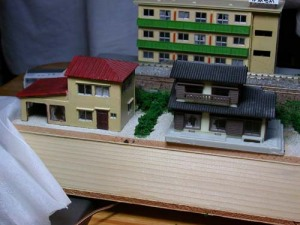 線路際の住宅