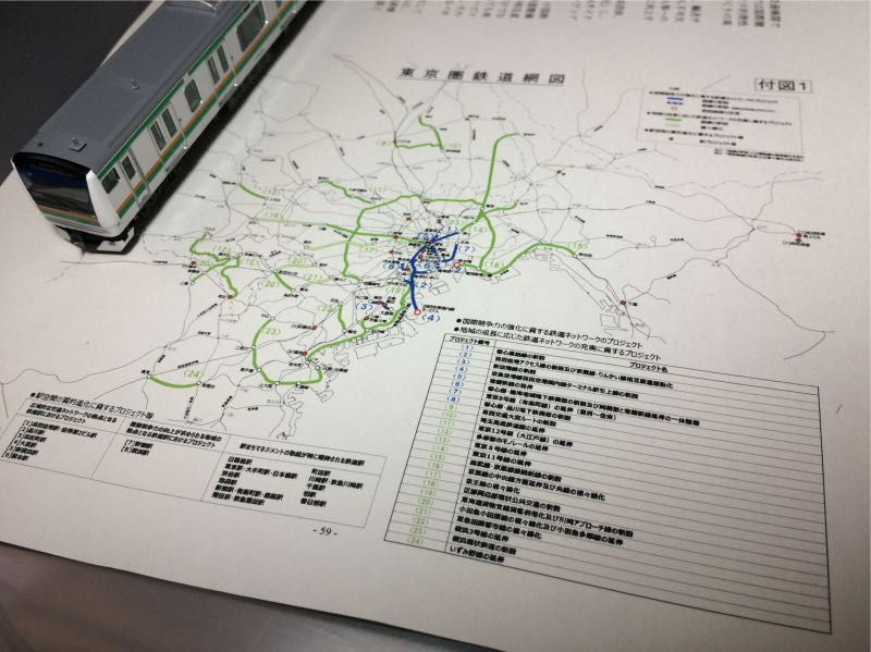 東京圏における今後の都市鉄道のあり方について(案)